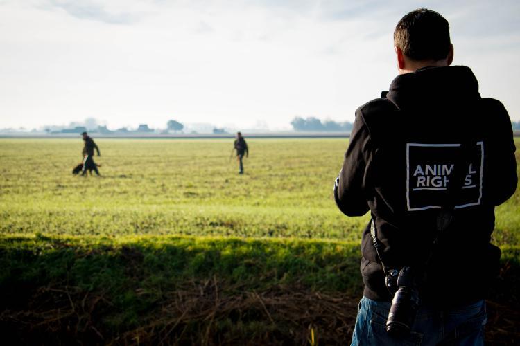 Animal Rights legt de jacht vast.