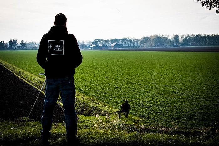 Animal Rights legt de drijfjacht vast.