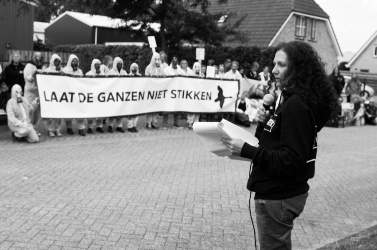 Een demonstratie bij Duke Faunabeheer, de vergasser.