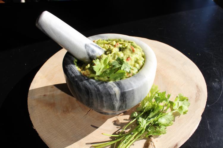 Guacamole is bijna altijd vegan. Foto: Vegan Challenge.