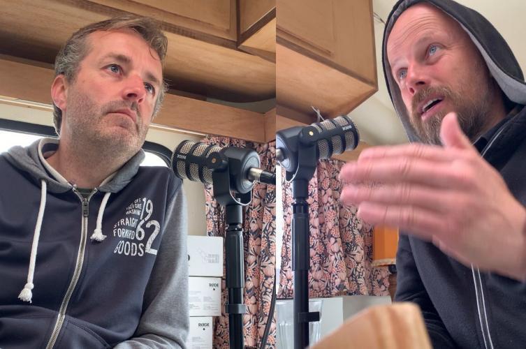 Jan ten Cate en Mark Kulsdom in gesprek